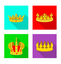 Design of medieval and nobility symbol vector