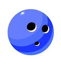 Icon bowling vector