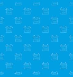 Inscription kick me pattern seamless blue vector