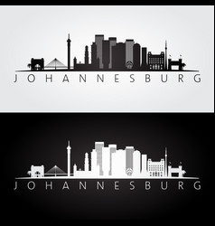 Johannesburg city skyline silhouette vector images 34 johannesburg skyline and landmarks silhouette vector thecheapjerseys Image collections