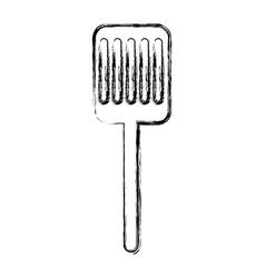 Kitchen spatula isolated icon vector