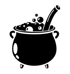 potion icon simple style vector image