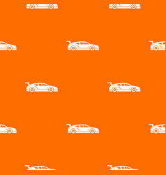 rally racing car pattern seamless vector image