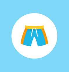 swim suit icon sign symbol vector image