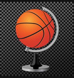 ball a creative concept clean modern vector image vector image