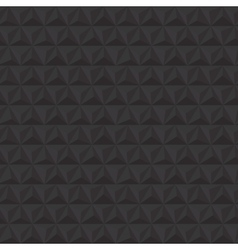 black geometric triangle seamless pattern vector image
