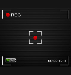 Camera background camera background and ui vector