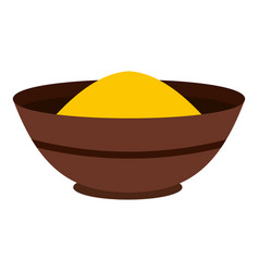curry spices icon isolated vector image