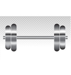 Dumbbell exercise fitness flat icon vector