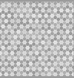 Hexagon pattern seamless geometric background vector