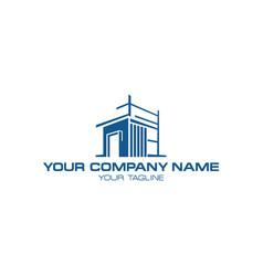 home construction symbol vector image