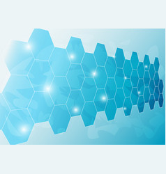 Ice wall background vector