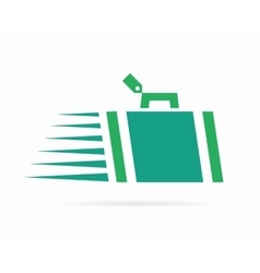 luggage logo vector image