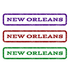 new orleans watermark stamp vector image
