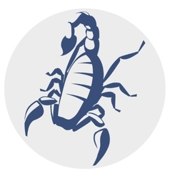 Scorpion icon vector