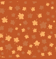 seamless pattern for autumn vector image