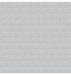 Grey geometric triangle seamless pattern vector image vector image