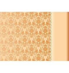 Vintage Background Antique Floral Luxury vector image vector image