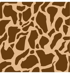 animal print background isolated icon vector image