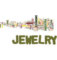 The jewelry market never goes out of style even vector