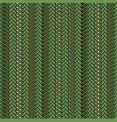 abstract modern zigzag seamless pattern braided vector image