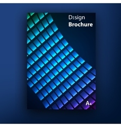 brochure booklet cover design templates vector image