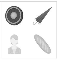 business hairdresser history and other web icon vector image