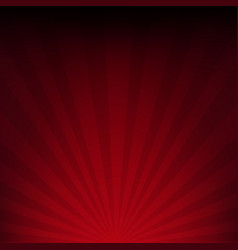 dark red sunburst paper vector image