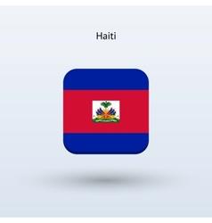Haiti flag icon vector