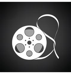 Movie reel icon vector image