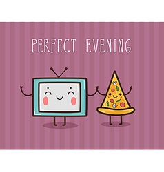 Perfect evening vector