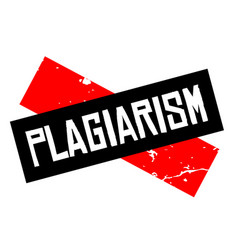 Plagiarism attention sign vector