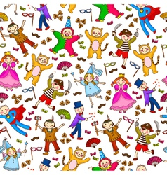 Purim pattern small vector