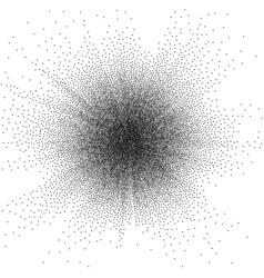 Random halftone EPS 10 vector