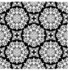 seamless traditional asian ornamental motive vector image