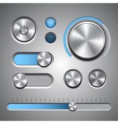 Set detailed ui elements vector