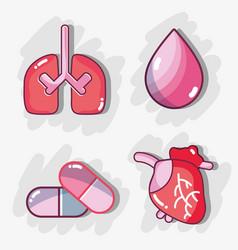 Set diagnostic treatment to care body vector