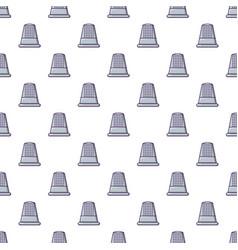 Thimble pattern seamless vector