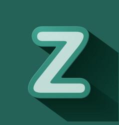 Volume icons alphabet z vector