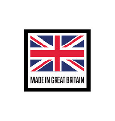 made in england isolated label for products vector image vector image
