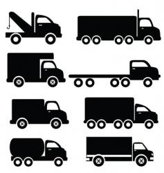 trucks vector image vector image