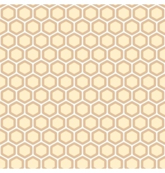 Honeycomb abstract pattern vector image