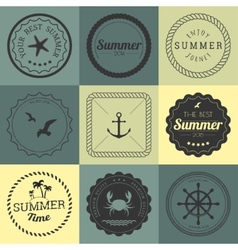 collection design elements vector image
