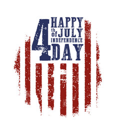 fourth july independence day vector image