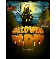 Halloween party eps 10 vector