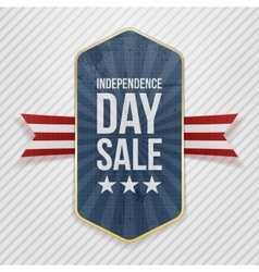 Independence Day Sale festive Tag vector image