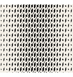 Seamless Black And White Halftone Pattern vector
