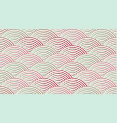 Seamless traditional asian ornamental motive vector