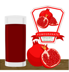 the pomegranate vector image vector image