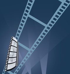 film tape entertainment vector image vector image